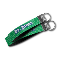 Equations Wristlet Webbing Keychain Fob (Personalized)