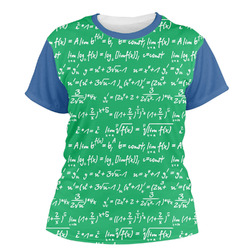 Equations Women's Crew T-Shirt (Personalized)