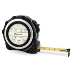 Hipster Cats & Mustache Tape Measure - 16 Ft (Personalized)