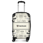 Hipster Cats & Mustache Suitcase (Personalized)