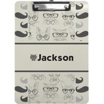 Hipster Cats & Mustache Clipboard (Personalized)