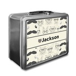 Hipster Cats & Mustache Lunch Box (Personalized)