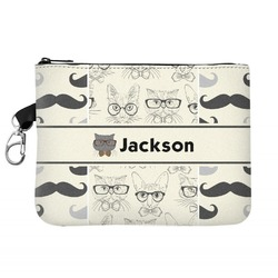 Hipster Cats & Mustache Golf Accessories Bag (Personalized)