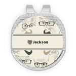 Hipster Cats & Mustache Golf Ball Marker - Hat Clip