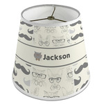 Hipster Cats & Mustache Empire Lamp Shade (Personalized)