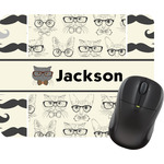 Hipster Cats & Mustache Mouse Pads (Personalized)