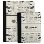 Hipster Cats & Mustache Padfolio Clipboard (Personalized)