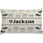 Hipster Cats & Mustache Pillow Case (Personalized)