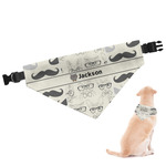 Hipster Cats & Mustache Dog Bandana (Personalized)