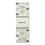 Hipster Cats & Mustache Runner Rug - 3.66'x8' (Personalized)