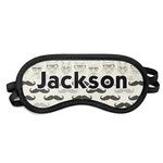 Hipster Cats & Mustache Sleeping Eye Mask (Personalized)