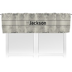Hipster Cats & Mustache Valance (Personalized)