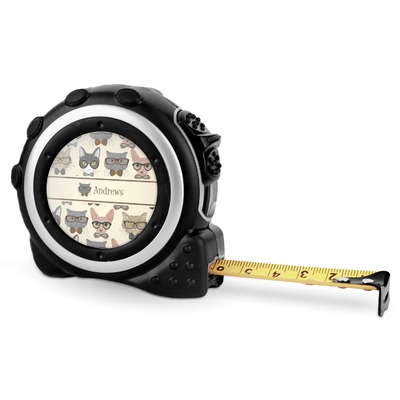 Hipster Cats Tape Measure - 16 Ft (Personalized)