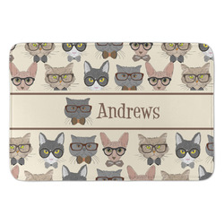 Hipster Cats Anti-Fatigue Kitchen Mat (Personalized)