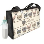 Hipster Cats Diaper Bag (Personalized)