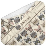 Hipster Cats Baby Hooded Towel (Personalized)