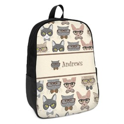 Hipster Cats Kids Backpack (Personalized)