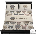 Hipster Cats Duvet Covers (Personalized)