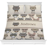 Hipster Cats Comforters (Personalized)