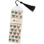 Hipster Cats Book Mark w/Tassel (Personalized)