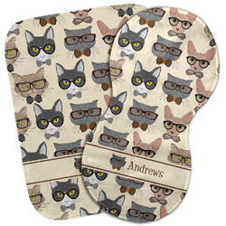 Hipster Cats Burp Cloth (Personalized)