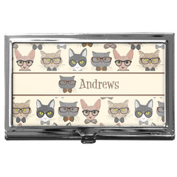 Hipster Cats Business Card Case