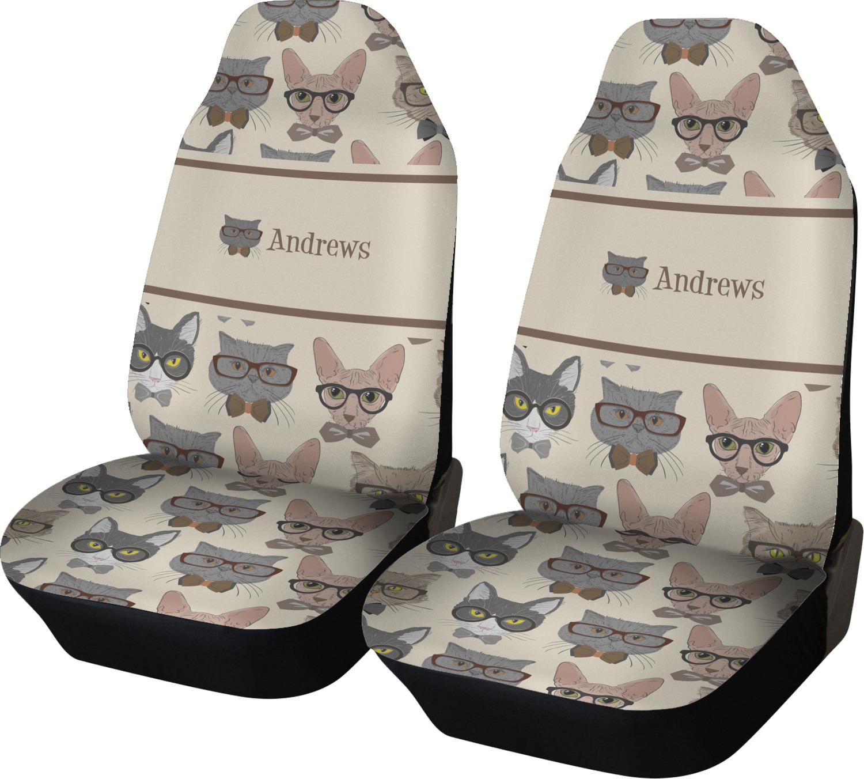 Cat Print Car Seat Covers
