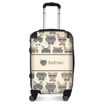 Hipster Cats Suitcase (Personalized)