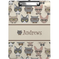 Hipster Cats Clipboard (Personalized)