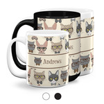 Hipster Cats Coffee Mugs (Personalized)