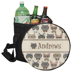 Hipster Cats Collapsible Cooler & Seat (Personalized)