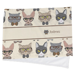 Hipster Cats Cooling Towel (Personalized)