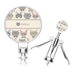 Hipster Cats Corkscrew (Personalized)