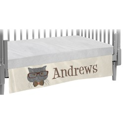 Hipster Cats Crib Skirt (Personalized)