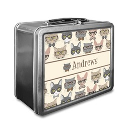 Hipster Cats Lunch Box (Personalized)