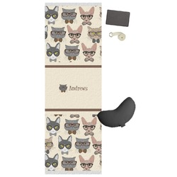Hipster Cats Yoga Mat (Personalized)