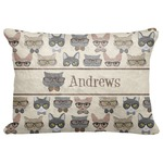 """Hipster Cats Decorative Baby Pillowcase - 16""""x12"""" (Personalized)"""