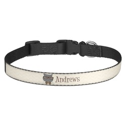 Hipster Cats Dog Collar (Personalized)
