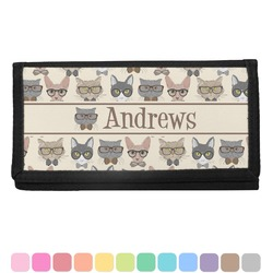 Hipster Cats Checkbook Cover (Personalized)