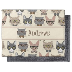 Hipster Cats Microfiber Screen Cleaner (Personalized)