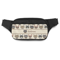 Hipster Cats Fanny Pack (Personalized)