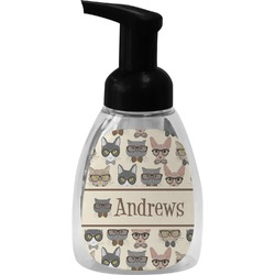 Hipster Cats Foam Soap Dispenser (Personalized)