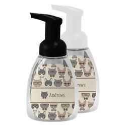 Hipster Cats Foam Soap Bottle (Personalized)