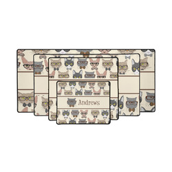 Hipster Cats Gaming Mouse Pad (Personalized)