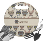 Hipster Cats Gardening Knee Cushion (Personalized)