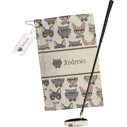 Hipster Cats Golf Towel Gift Set (Personalized)