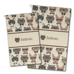 Hipster Cats Golf Towel - Full Print w/ Name or Text
