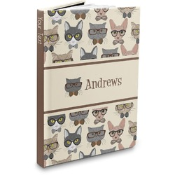 Hipster Cats Hardbound Journal (Personalized)