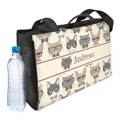 Hipster Cats Ladies Workout Bag (Personalized)