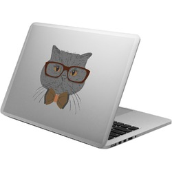 Hipster Cats Laptop Decal (Personalized)